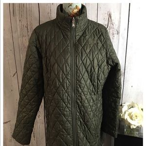 The North Face Olive Green Puffer XL